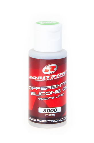 Robitronic Silicon Differentialöl 8000 CPS (50 ml)