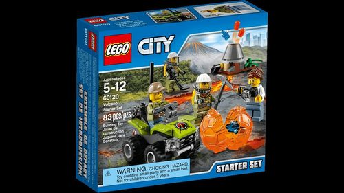 LEGO 60120 City Vulkan Starter-Set