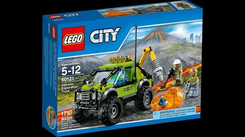 LEGO 60121 City Vulkan-Forschungstruck