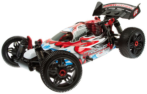 Robitronic Protos v2 1/8 Buggy Chassis mit 4,6cm³ Motor