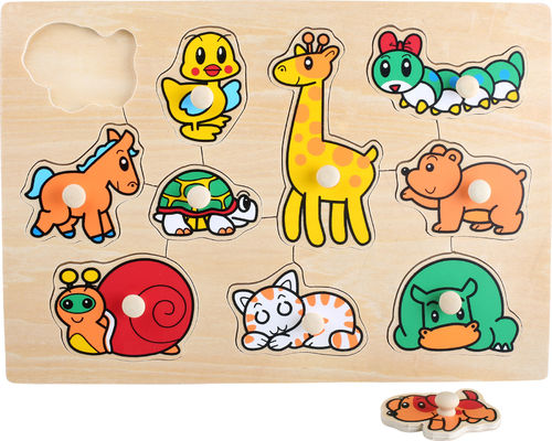 Small Foot Setzpuzzle Baby 200