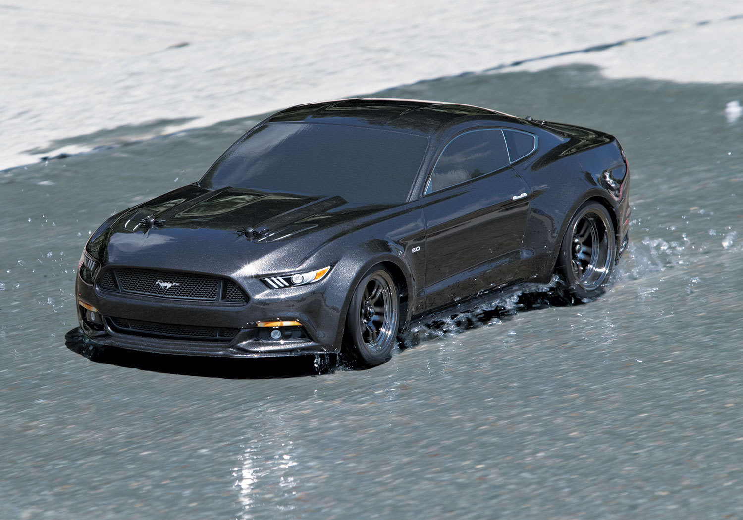 traxxas ford mustang 4tec 2 0 rtr tw 1 10 brushed online. Black Bedroom Furniture Sets. Home Design Ideas