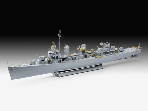 Revell 05150 Fletcher Class Destroyer 1:144 Platinum Limited Edition