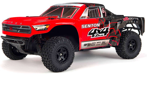 ARRMA SENTON 4x4 Short Course Truck 1:10 rot Brushed RTR