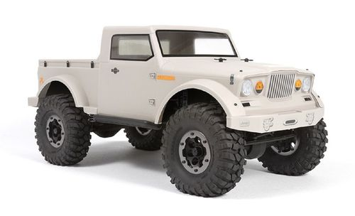 Axial Jeep NuKizer 715 Body - Clear