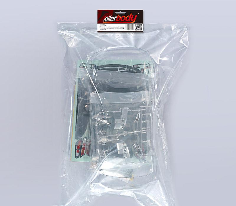 killerbody mitsubishi lancer evo 1 10 kit all in online kaufen. Black Bedroom Furniture Sets. Home Design Ideas
