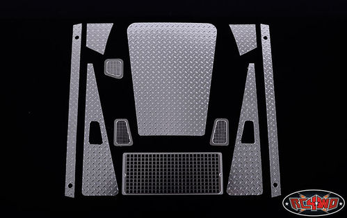RC4WD Defender D90 Diamond Plate Pack