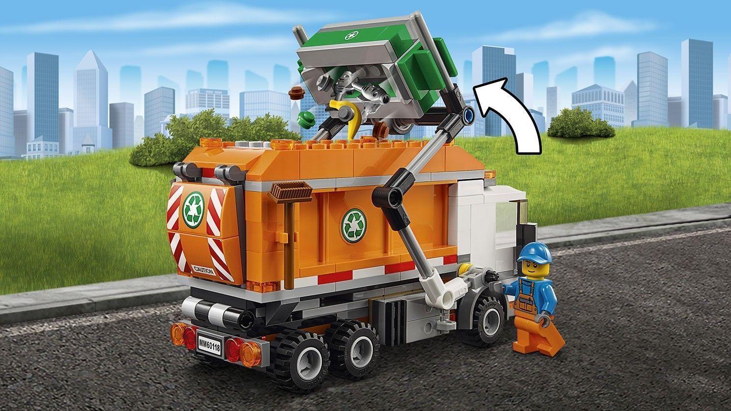 LEGO 60118 City Müllabfuhr Bausteine