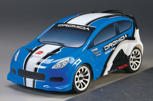 Dromida 1:18 Rally Brushless RTR 2,4Ghz blau