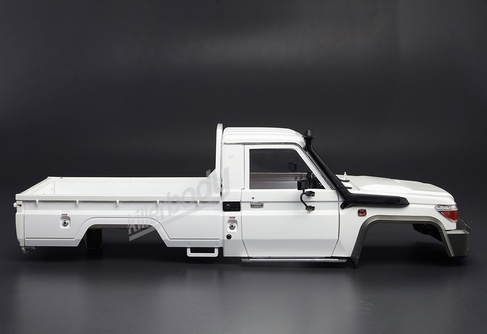 killerbody 1 10 toyota land cruiser 70 karosserie online. Black Bedroom Furniture Sets. Home Design Ideas