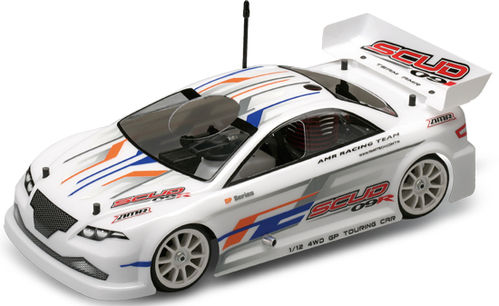 AMR SCUD 09R 1/12 GP Touring Car Racing Serie - ARTR