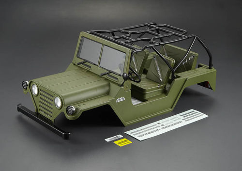 Killerbody 1/10 Crawler WARRIOR Military Green RTU