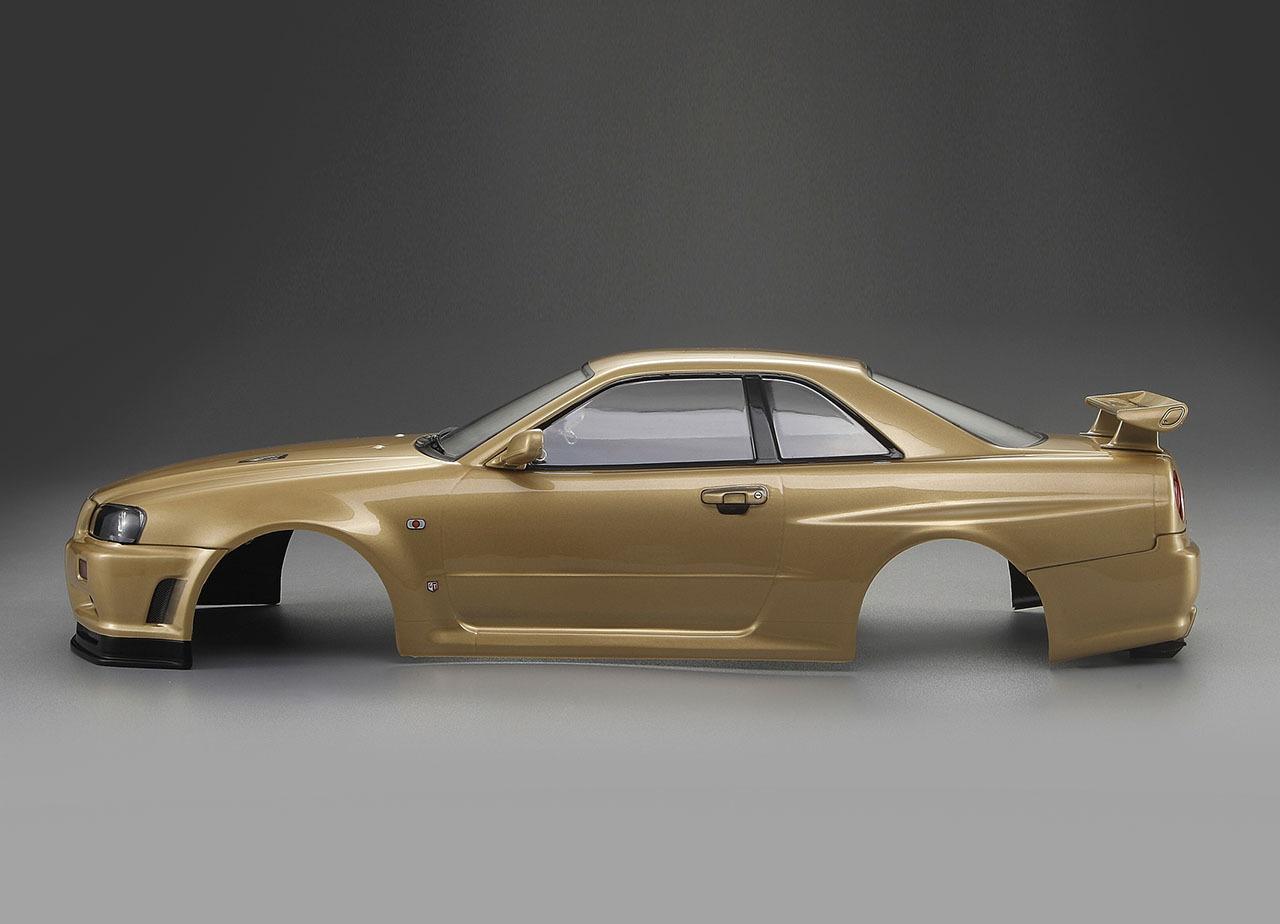 killerbody nissan skyline r34 1 10 karo champagner gold kaufen. Black Bedroom Furniture Sets. Home Design Ideas