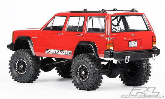 proline 1992 jeep cherokee clear body 1 10 online kaufen. Black Bedroom Furniture Sets. Home Design Ideas