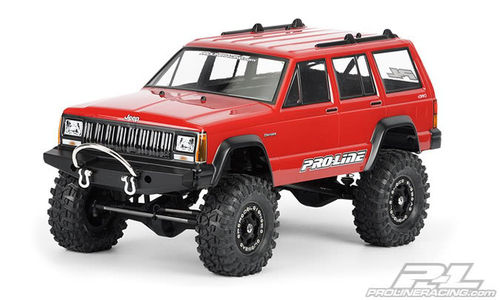 ProLine 1992 Jeep Cherokee Clear Body 1:10