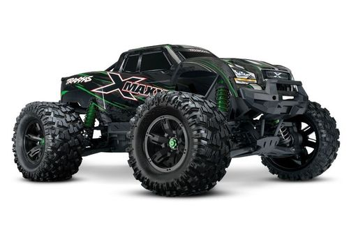 TRAXXAS X-Maxx 8S RTR grün Brushless waterproof+TSM 2,4Ghz