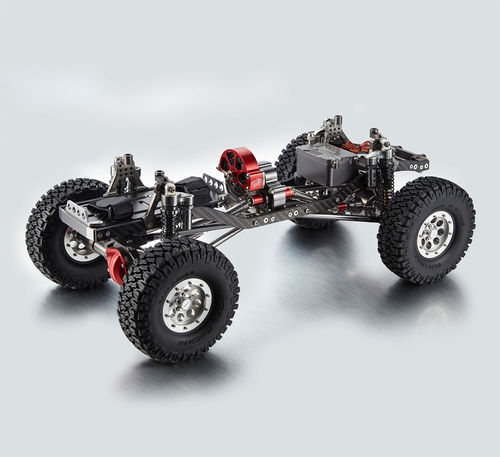 TFL T-10 Pro Crawler Chassis Mittelmotor Radstand 313mm