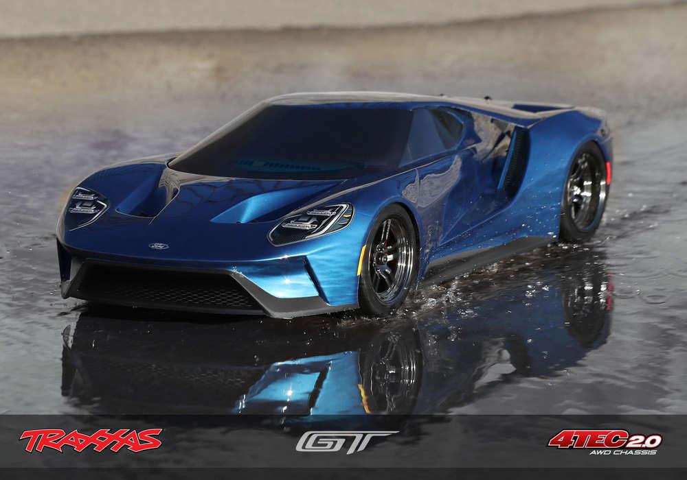 Traxxas Ford Gt Tec   Mm Rtr