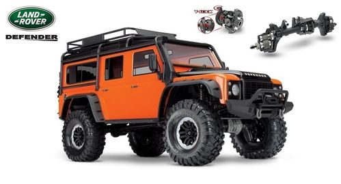 Traxxas TRX-4 Land Rover Crawler orange Limited Adventure Edition