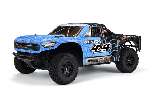 ARRMA SENTON 4x4 Short Course Truck 1:10 blau Brushed RTR