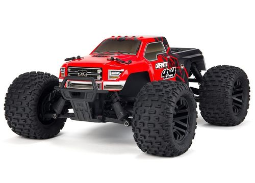 Arrma Granite 4x4 Monster Truck rot 1:10 Brushed RTR