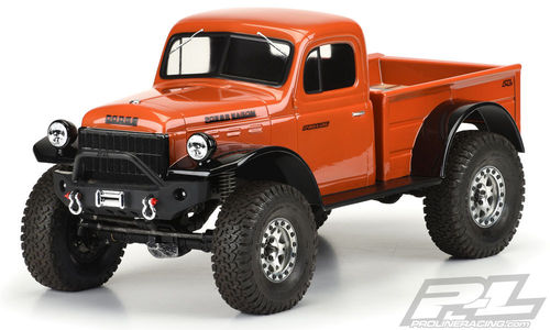 ProLine 1946 Dodge Power Wagon Karo klar für 313mm