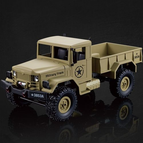Heng Long 1/16 4x4 RC U.S. Military Truck Sand