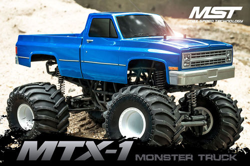 MST MTX-1 1:10 4WD Monstertruck Brushless 2,4Ghz RTR