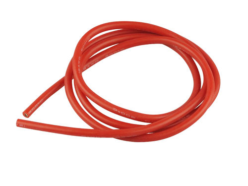 Amass Silikonkabel 12AWG 4mm² x 1.000mm rot