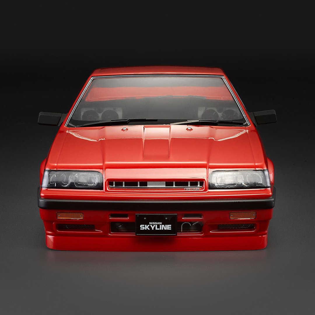 killerbody nissan skyline r31 karosserie lackiert rot195mm. Black Bedroom Furniture Sets. Home Design Ideas