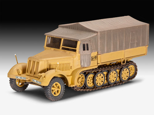 Revell Sd.Kfz. 7 (Late Production) 03263 Maßstab 1:72