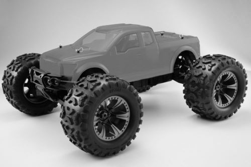 Hobao Hyper Monster Truck Brushless 1/8 80% ARR Roller
