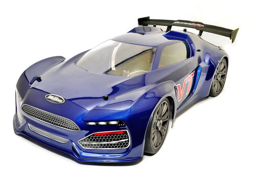 Hobao Hyper VTE On-Road Brushless 1/8 150A 6s RTR blau