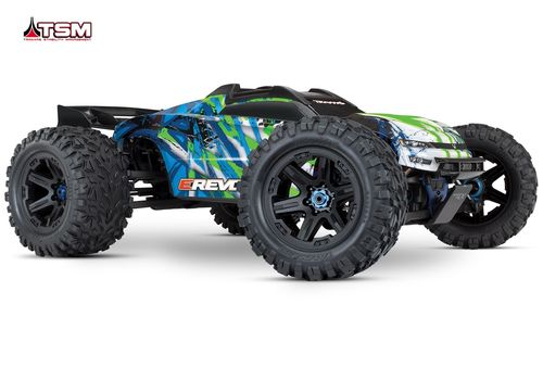 Traxxas E-Revo Brushless RTR 2.4GHz Version 2018