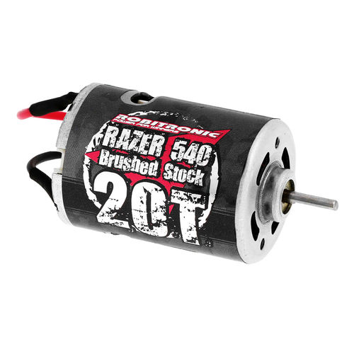 Robitronic Razer 540 Elektro Motor 20Turn Brushed Stock